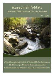 Museumsinfoblatt Nr. 01/2012 - Oberösterreichischer ...