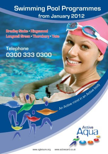 Swimming Pool Programmes - Active Centre