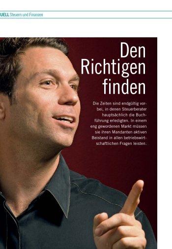 Den Richtigen finden - FACTS Verlag GmbH