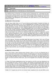 1 Autor: Adolf Heller Thema: Das Mütterliche in Gott ... - Kahal.De