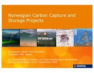 Norwegian Carbon Capture and Storage Projects