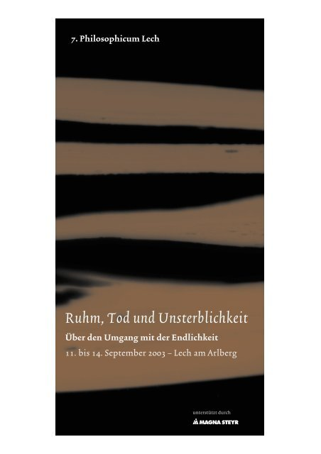 PDF-Download - Philosophicum Lech