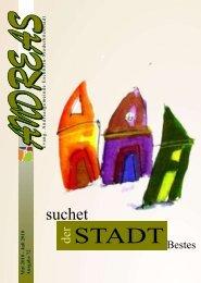 ANDREAS 72 Suchet der Stadt Bestes - Andreasgemeinde ...
