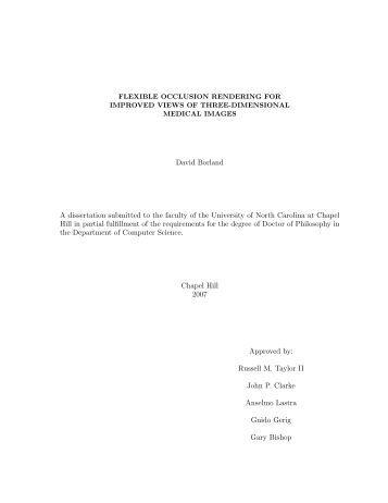 Dissertation faculty