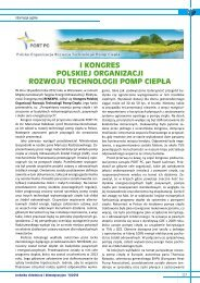 i kongres polskiej organizacji rozwoju technologii pomp ciepła