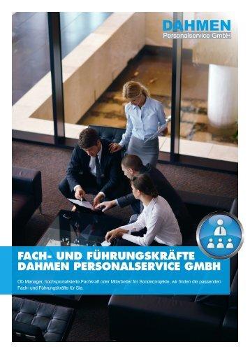 Fach- und Führungskräfte - DAHMEN Personalservice GmbH