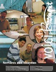 Services aux citoyens - Ville de Bromont
