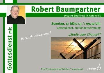 Robert Baumgartner - FCGW