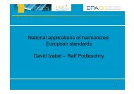 N ti l li ti fhid National applications of harmonized European ... - EPAQ