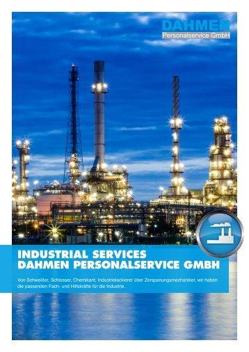 Industrial Services - DAHMEN Personalservice GmbH