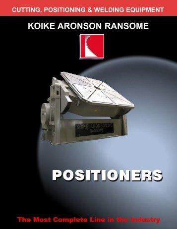 Condensed Positioner USA - Koike