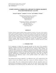 computational modelling applied to stress gradient analysis for ...