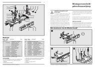 Montagevoorschrift/ gebruiksaanwijzing - Twinny Load