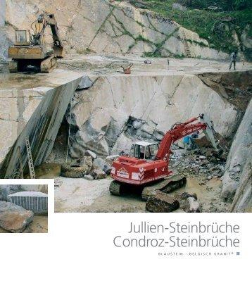 Jullien-Steinbrüche Condroz-Steinbrüche - Pierres & Marbres de ...