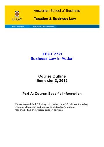 law 2101 course outline 2014 15 Acct 2101/badm 2710 principles of managerial accounting syllabus course outline module 1: federal and state law.