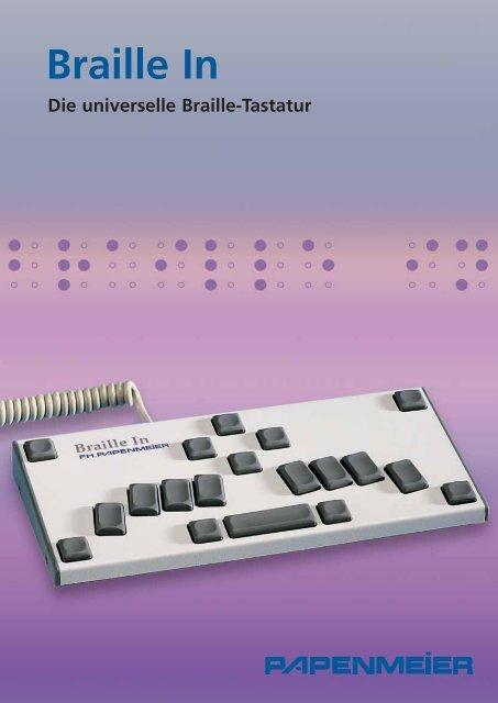 Datenblatt Braille In - FH Papenmeier GmbH & Co. KG