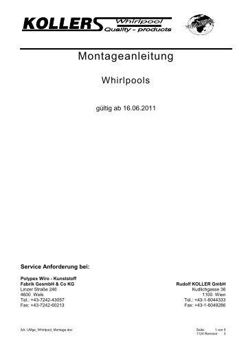 Montageanleitung - Polypex