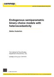 Endogenous semiparametric binary choice models with ... - cemmap
