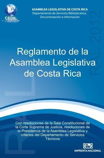 reglamentoal2012_interactivo - Asamblea Legislativa