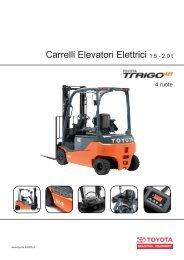 Carrelli Elevatori Elettrici 1.5 - 2.0 t