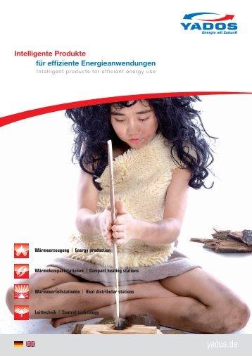 YADOS Markenbroschüre 2012