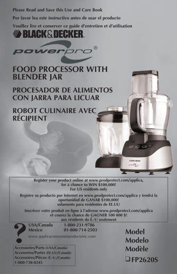 kitchenaid user manual food processor