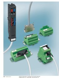 Phoenix Contact INTERFACE System Cabling and ... - Power/mation