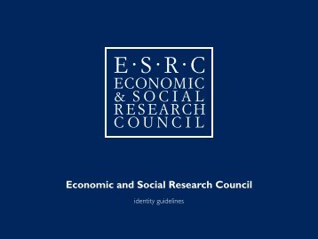 ESRC Identity Guidelines