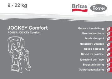 9 - 22 kg JOCKEY Comfort - Britax Römer