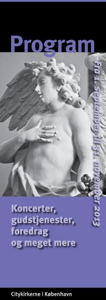 Citykirkernes arrangementskalender - Vor Frelsers Kirke