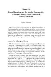 Islam, Migration, and the Muslim Communities in Europe