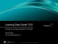 Lowering Data Center Total Cost of Ownership - WorldHostingDays