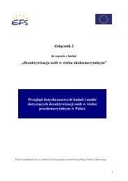 Załącznik 2 - Ministerstwo Pracy i Polityki Społecznej