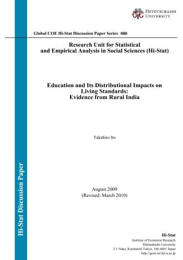 Research Unit for Statistical and Empirical Analysis in Social