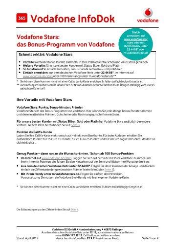 Infodok Infodok 365: Vodafone Stars: das Bonusprogramm von ...