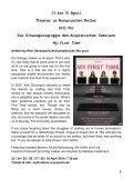 Souffleuse - Die Programmzeitschrift des Theaters im Romanischen Keller, Sommersemester 2014 - Seite 7