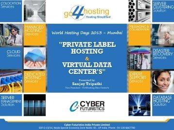 Cyber Futuristics India Pvt. Ltd. - WorldHostingDays