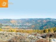 rapport d'évaluation environnementale - Parc National des Cévennes
