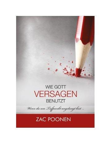 Wie Gott Versagen benutzt  -  Zac Poonen