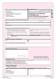 PA 510 - Rekvisition af straffeattest til offentlig brug fra ... - Aarhus.dk