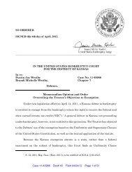 the pdf document - District of Kansas