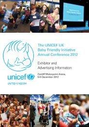 Exhibitors Information 2012_05exhibition.qxd - Unicef UK