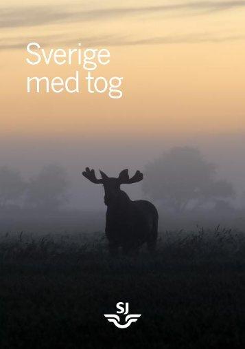 Sverige med tog - SJ