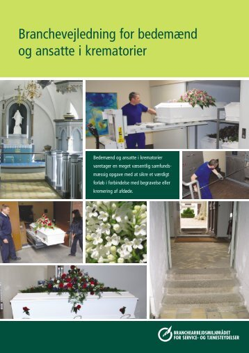 Branchevejledning for bedemænd og ansatte i krematorier