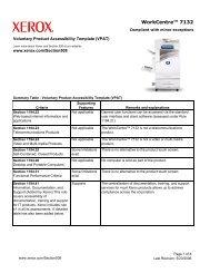 WorkCentre 7132 - Xerox