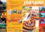 Découvrez la Lorraine sur le web - Tourisme en Lorraine