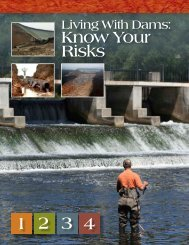 Living with Dams - Association of State Dam Safety Officials