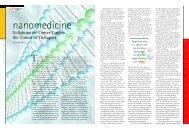 Nanomedicine - ScienceScribe.Net
