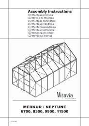 MERKUR / NEPTUNE 6700, 8300, 9900, 11500 Assembly ... - Bony