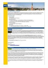 WSP aktuell, Ausgabe September 2009 - Wirtschaft und ...